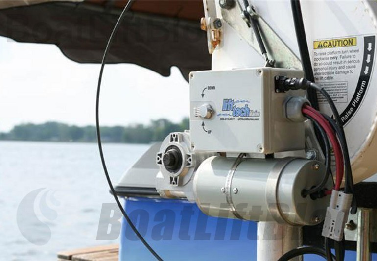 Free Standing Boat Lift Motors Continued