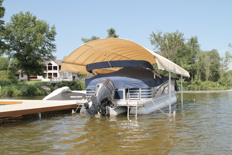 picture shelter carport garage pontoon boats covers concept cover steel awning canopy boat metal