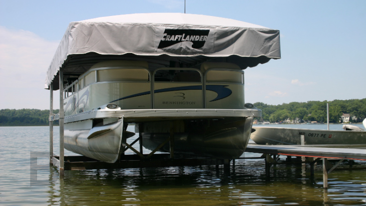 CraftLander Pontoon Lifts