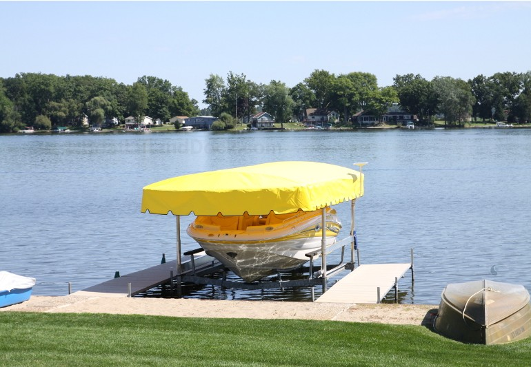 OEM and Aftermarket Boat Lift Canopy Options