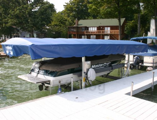Boat Lift Canopy Care